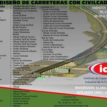 Diseño de Carreteras con CIVILCAD