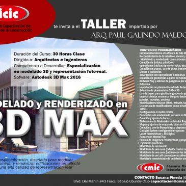 Modelado y Renderizado en 3D MAX