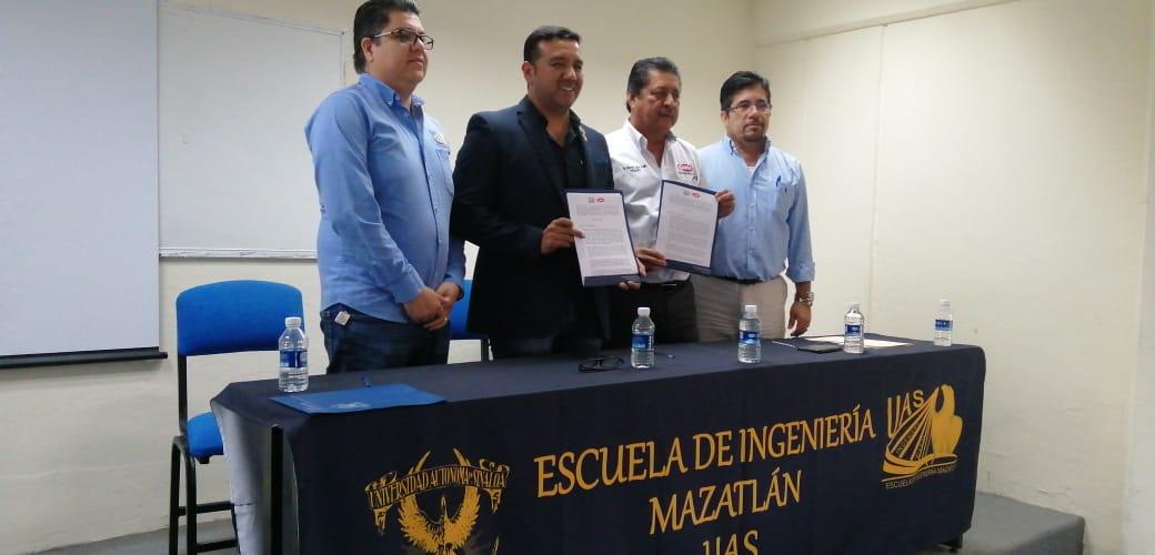 Firma de convenio de colaboración EIM – CMIC