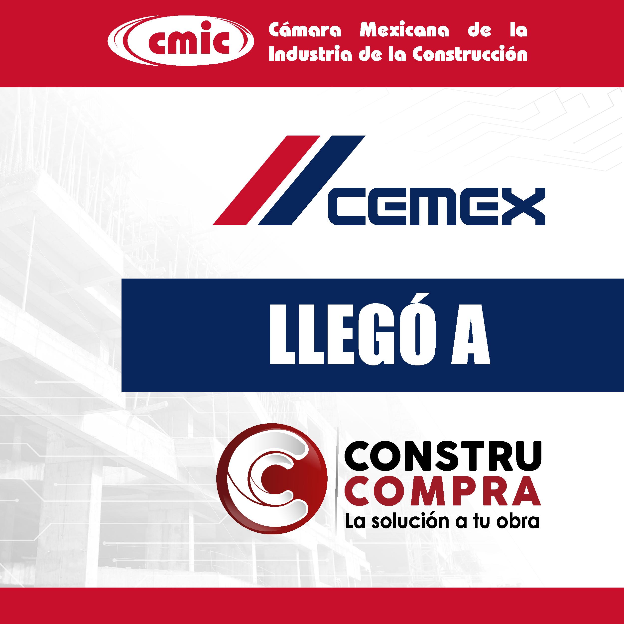 ¡Con la nueva alianza CEMEX- Constru Compra tenemos más beneficios para ti!